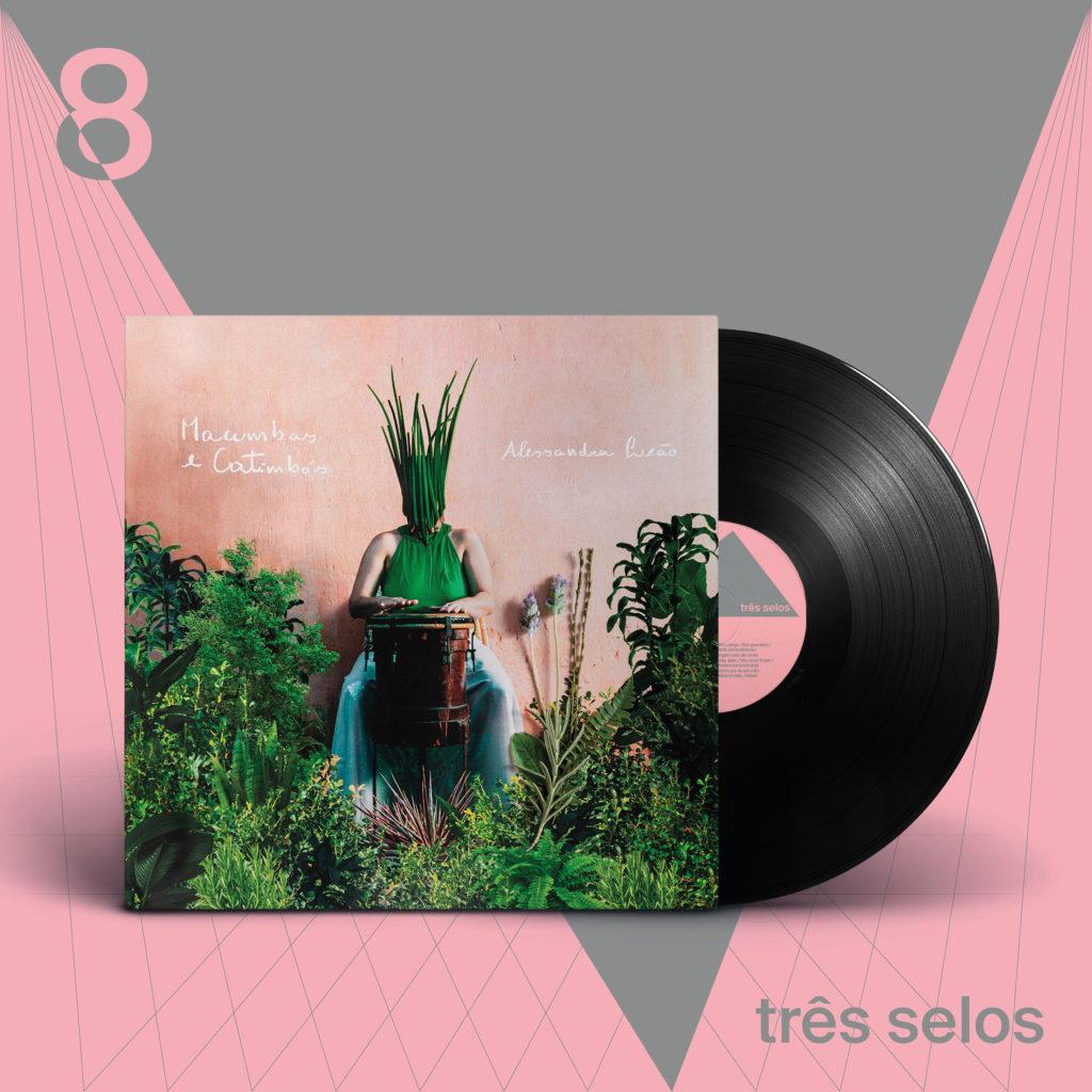 Assinatura de Discos Três Selos - Número 08 - Alessandra Leão
