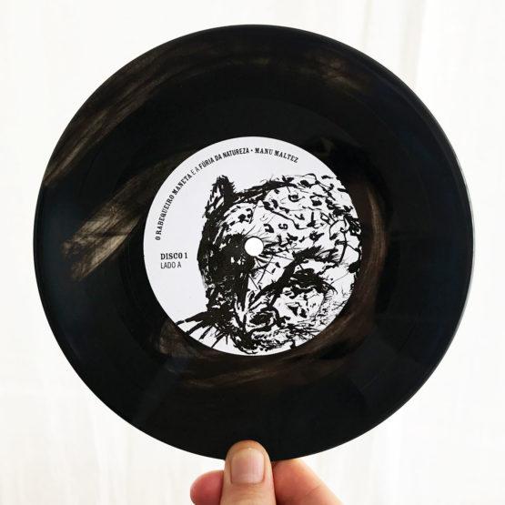 Disco de Vinil Manu Maltez, O Rabequeiro maneta e a fúria da natureza