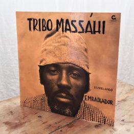 Capa Disco de Vinil, Tribo Massáhi, Estralando Embaixador