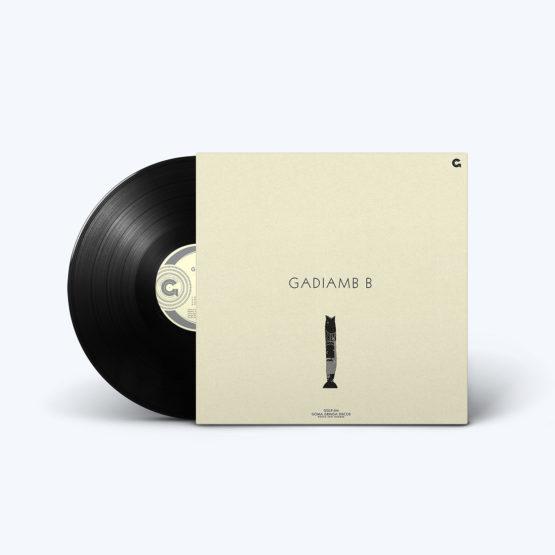 Verso Disco de Vinil Gadiamb, B