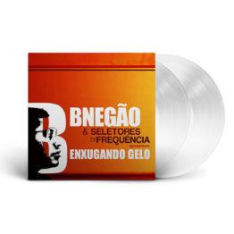 Mockup LP BNegão & Seletores de Frequência, Enxugando Gelo