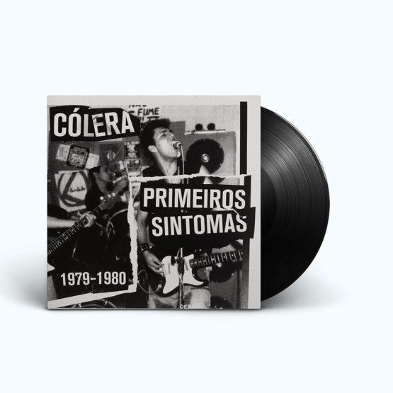 Capa Disco Cólera, Primeiros Sintomas 1979-1980
