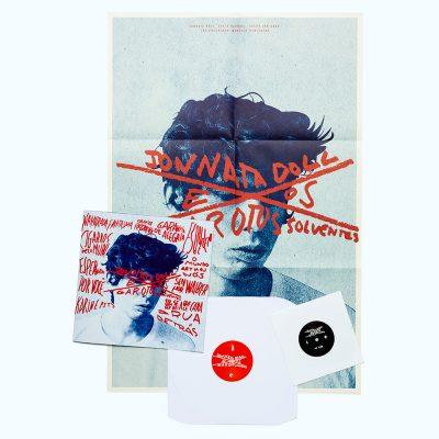 Mockup Disco LP + 7' - Jonnata Doll e Os Garotos Solventes